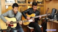 陈建&郭咚咚《博撒》朱丽叶指弹吉他弹唱吉他独奏