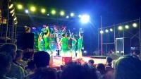 如东北坎松野舞蹈队孔雀公主  纳凉晚会