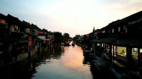 美爆了!生活着的千年古镇西塘,傍晚时分,夕阳斜下,渔舟唱晚,灯火闪烁,酒香飘逸