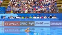 游泳世锦赛花游-双人自选决赛 泳池上的骷髅战士!希腊美少女身披骷髅战衣出场