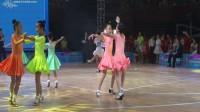 """2017年杭州""""华之舞杯""""国际标准舞全国公开赛少年女子A组L决赛桑巴"""