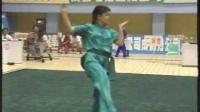 1993年第七届全运会武术套路比赛 女子长拳 009 张青(湖北)