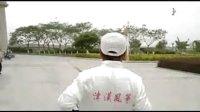 汉沽区,特技风筝,邵师傅表演。