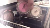 化妆品收纳+收集分享1(口红&眼影盘&腮红)|Sini9