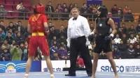 2010年第五届世界杯武术散打比赛 决赛 02 女子52公斤级 鄂美蝶(中国)VS 黑方(土耳其)