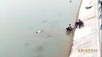 赞!洛阳男子开车遇溺水 他一口气救全家3人