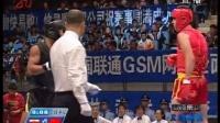2008年第四届世界杯武术散打比赛 01单元 009 男子80kg 哥里布(伊朗)VS 白近斌(中国)