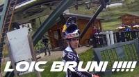 COMMENCAL - 法國ROUBION山地車公園SUPREME DH V4.2速降騎行POV! 還看到大神LOIC BRUNI!
