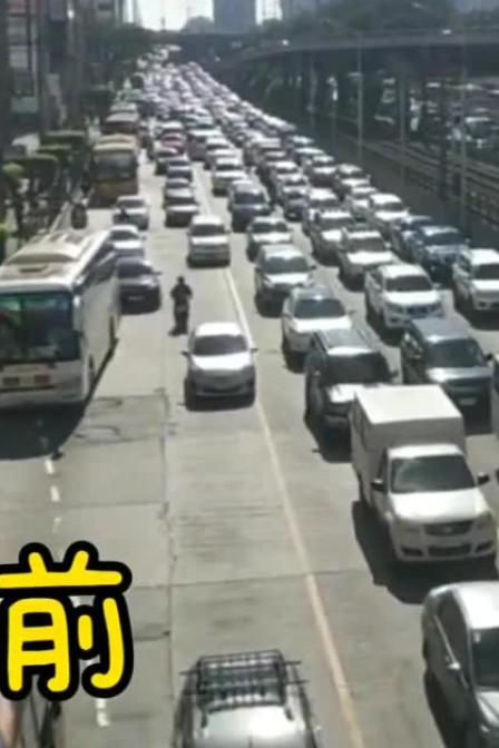 菲律宾总统杜特尔特决定马尼拉封城 请看前后对比视频 执行力很强