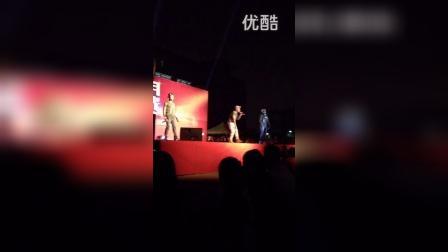 宁波大学阳明学院迎新晚会MC Kay的R&*歌曲