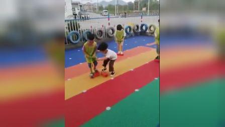 儿童青蛙跳玩具泡沫弹跳器户外宝宝体育健身幼