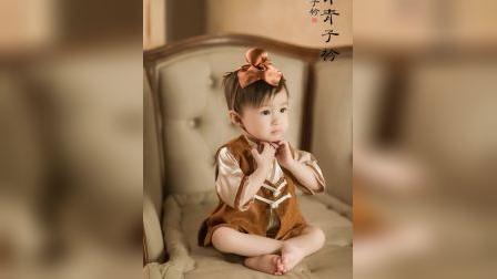 君晓天云儿童摄影服装萌萌可爱写真百天宝宝拍