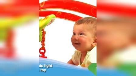 君晓天云tinylove婴儿健身器架0-1岁男女宝宝爬行垫