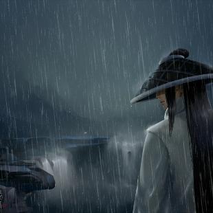 雨夜独行-