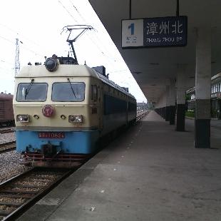 漳州北站的SS4