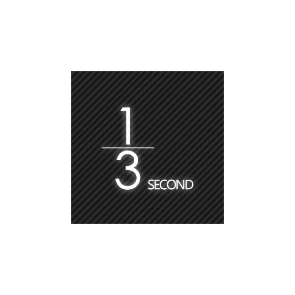 1/3SECOND