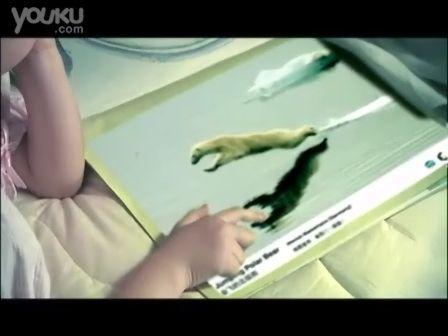 会飞的北极熊(30秒) 杨澜