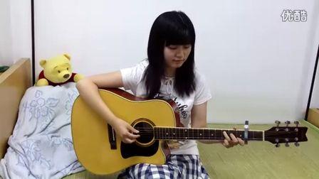吉他弹唱《心愿》Cover by 白桦树娃娃