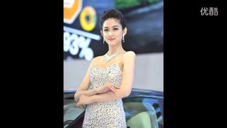 陳婉萍 Pinky 2013上海国际车展 比亞迪
