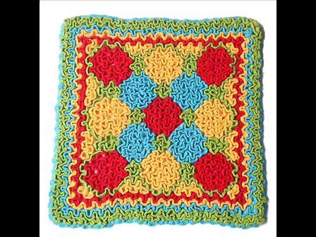银耳花汽车坐垫毛毯底片和花的钩法 87