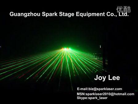 new 4 heads laser light SPL-RG-504Q