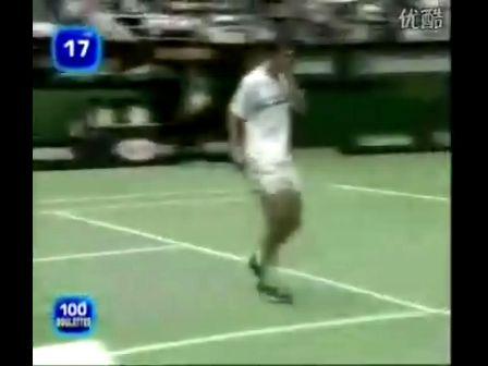 网球比赛中打死了一只小鸟