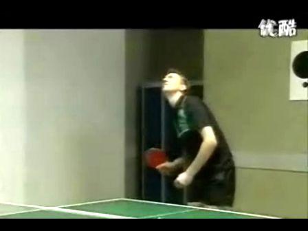 史上最欠揍的一个乒乓球发球