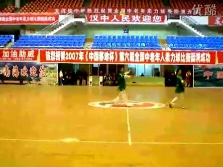 柔力球---2007第六届全国比赛双人自选第一名