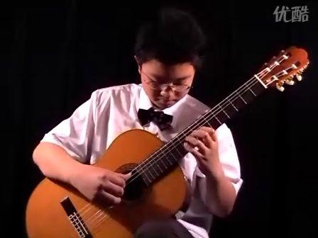 维拉·罗伯斯《练习曲第一号》 太原 姜达演奏 古典吉他
