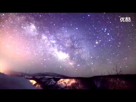 Time Lapse 055 昇る天の川 沖揚平 The Milky Way in Okiaget