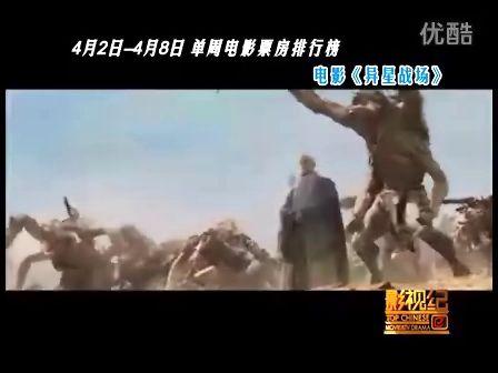 """中国内地电影票房榜 (2012.4.2至4.8) """"诸神之怒""""破亿连冠"""